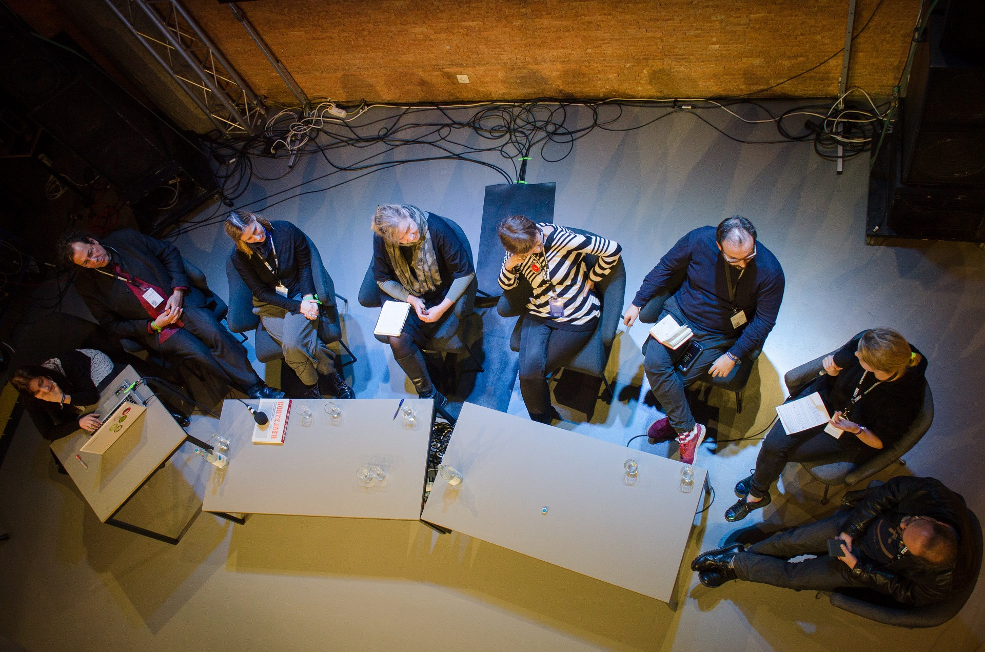EMAP jury 2018 at transmediale_Berlin, photo: transmediale archive
